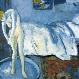Pablo Picasso. La habitación azul, 1901. Phillips Collection