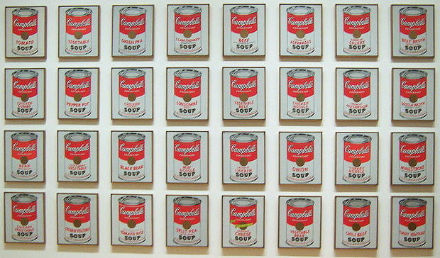 Andy Warhol. 32 Campbell's Soup Cans, 1962
