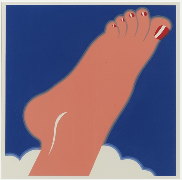Tom Wesselmann. Seascape (Foot), 1968