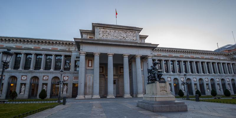 Museo del Prado. Fachada oeste o de Velázquez