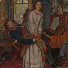 William Holman Hunt. El despertar de la conciencia, 1853. Tate Gallery