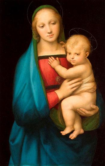 Rafael. Madonna del granduca, hacia 1505. Palazzo Pitti