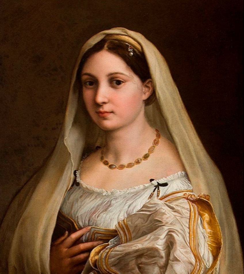 Rafael. Donna velata, 1514-1516. Palazzo Pitti, Florencia