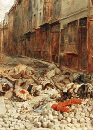 Ernest Meissonier. La barricada, 1848. Musée d´ Orsay