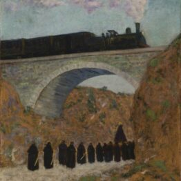 Darío de Regoyos. Viernes Santo en Castilla, 1904. Museo de Bellas Artes de Bilbao