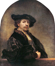 Rembrandt. Autorretrato a la edad de 34 años, 1640