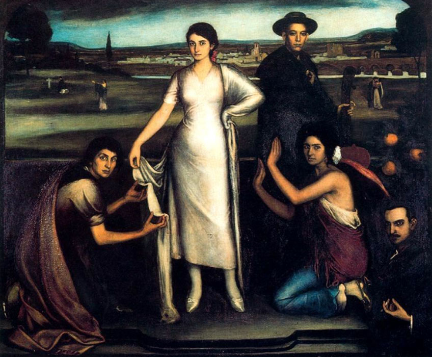 Julio Romero de Torres. Nuestra Señora de Andalucía, 1907. Museo Julio Romero de Torres