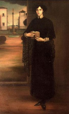Julio Romero de Torres. Flor de santidad, 1910. Museo Julio Romero de Torres