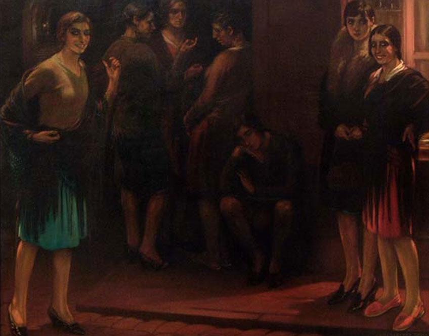 Julio Romero de Torres. Nocturno, 1930. Museo Julio Romero de Torres