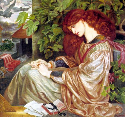 Dante Gabriel Rossetti. Pía de Tolommei
