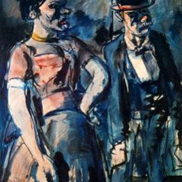 Georges Rouault. Los Poulot, 1905