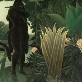 Henri Rousseau. La encantadora de serpientes, 1907. Musée d´ Orsay