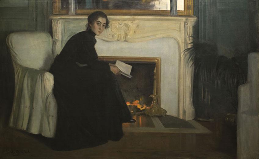 Santiago Rusiñol. Novela romántica, 1893-1894. Museu Nacional d´ Art de Catalunya. MNAC