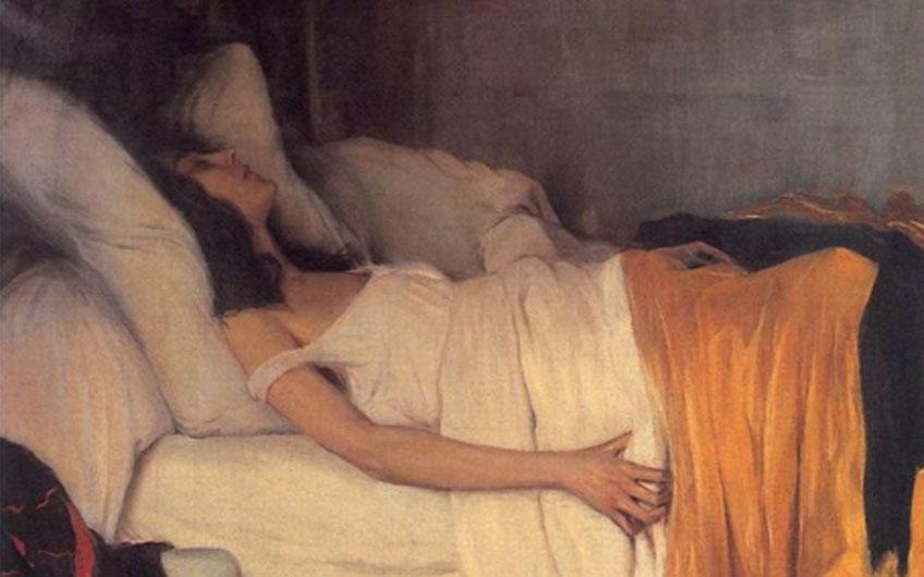 Santiago Rusiól. La morfina, 1894. Museu Cau Ferrat