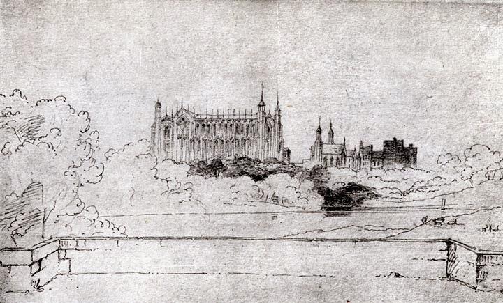 La capilla del Eton College según Ruskin