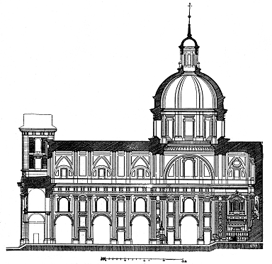 Iglesia de San Isidro. Alzado