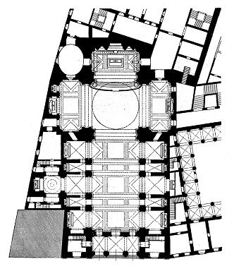 Iglesia de San Isidro. Planta
