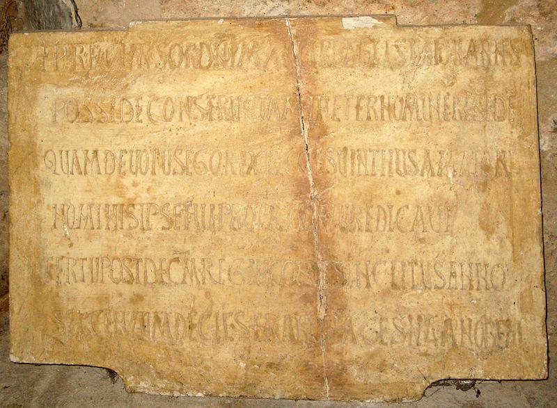 Lápida de san Juan de Baños, Venta de Baños