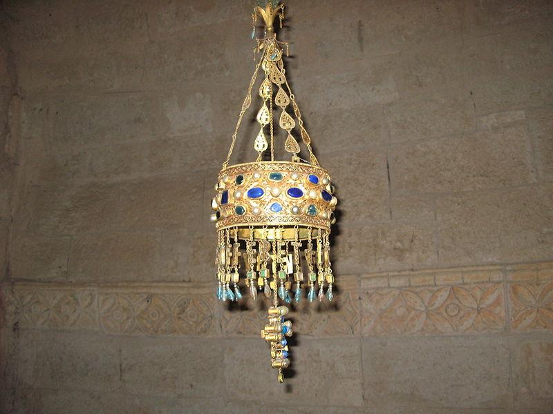 Corona de Recesvinto en San Juan de Baños