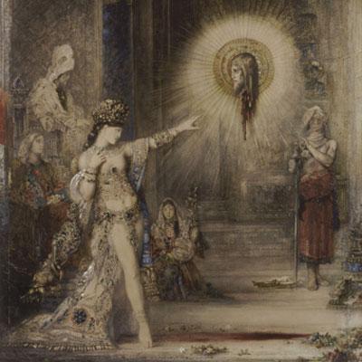 Gustave Moreau. La aparición, 1876. Museo del Louvre