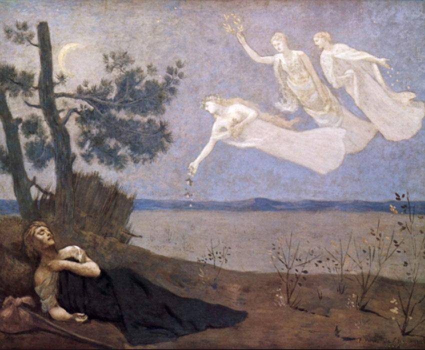 Puvis de Chavannes. El sueño, 1883. Musée d´ Orsay, París