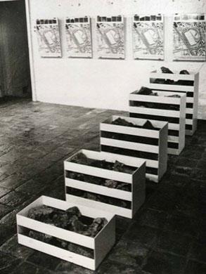 Robert Smithson. Nonsite, Oberhausen, 1968