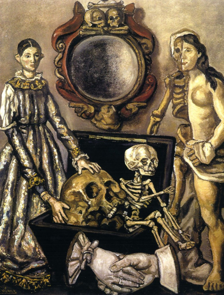 José Gutiérrez Solana. El espejo de la muerte, 1929