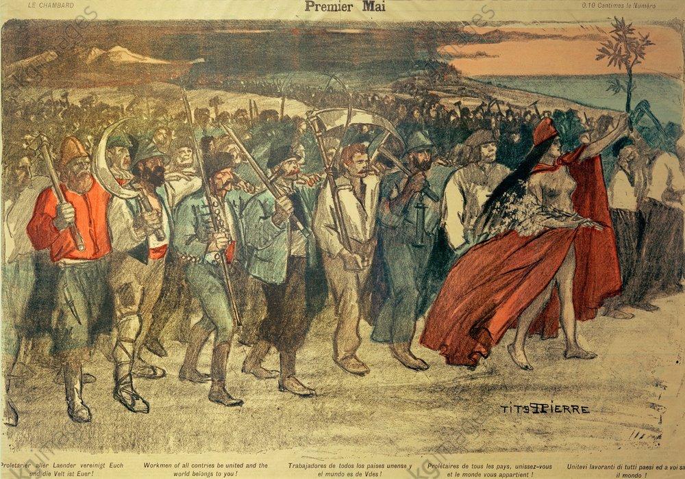 Steinlen. Premier mai, 1894