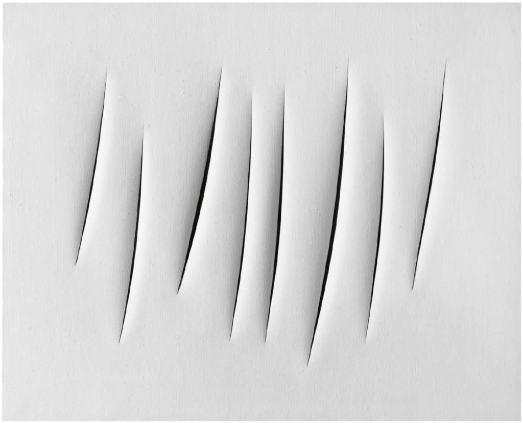 Lucio Fontana. Concetto Spaziale Attese, 1963