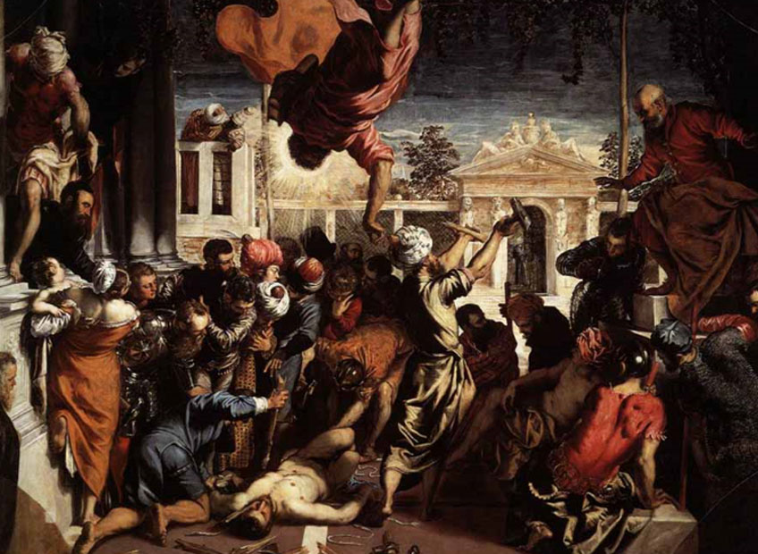 Tintoretto, El milagro de San Marcos, 1548. Galería de la Academia, Venecia