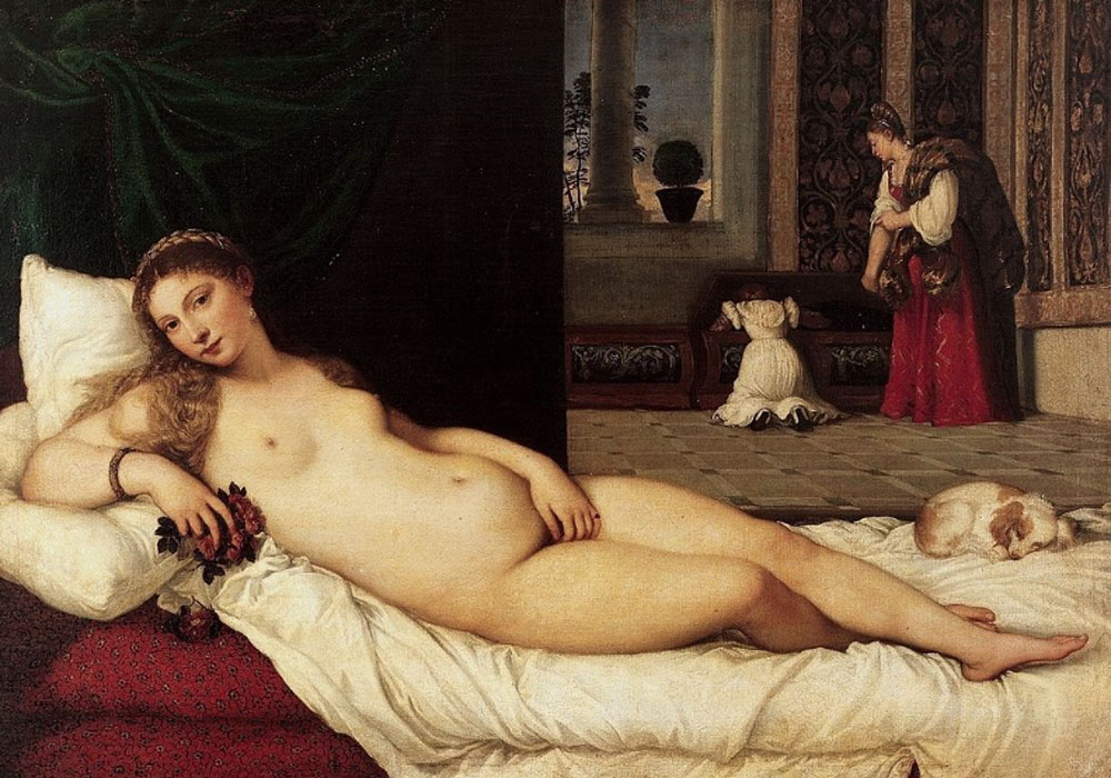 Tiziano. Venus de Urbino, 1538. Uffizi