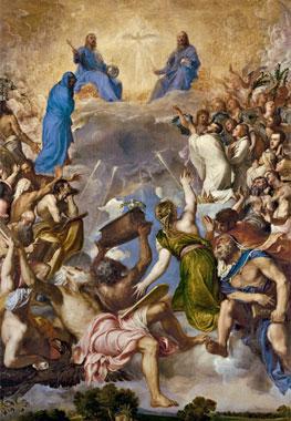 Tiziano. La Gloria, 1551-1554. Museo Nacional del Prado