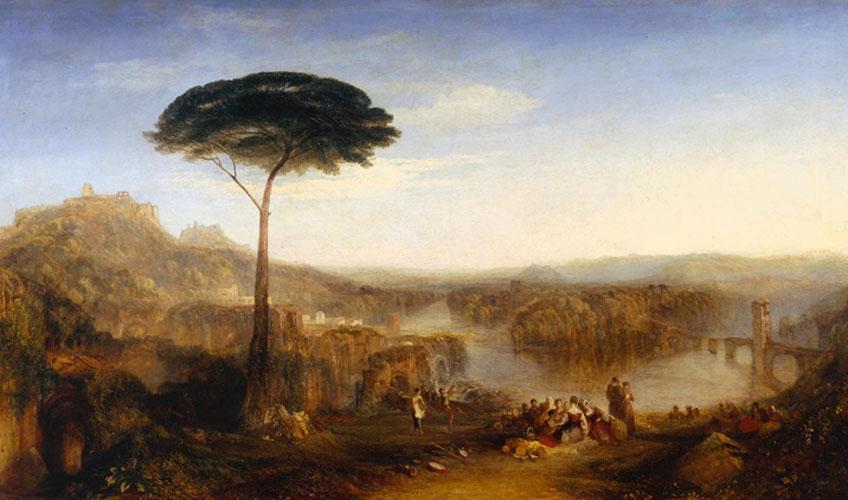 Turner. El peregrinaje de Childe Harold a Italia, hacia 1832. Tate