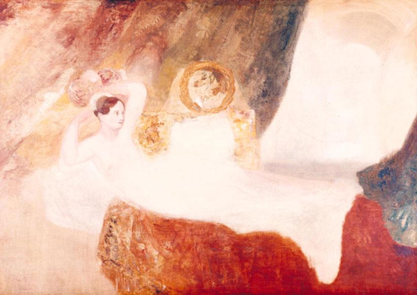 Turner. Reclining Venus, 1828. Tate
