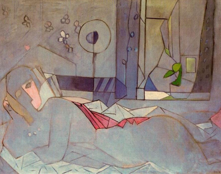 Francisco Bores. La Femme du marin, 1936. Colección particular