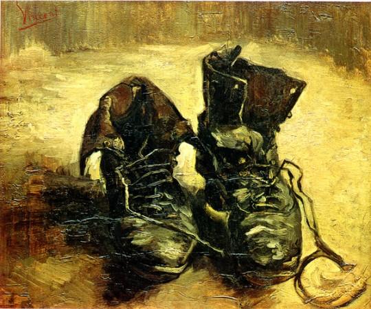 Van Gogh. Par de botas, 1886. Museo Van Gogh