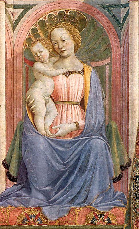 Domenico Veneziano. Retablo de Santa Lucía, 1445-1447