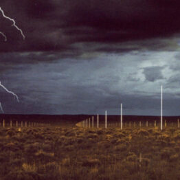 Walter de Maria. The Lightning Field. Dia Art Foundation, Nueva York