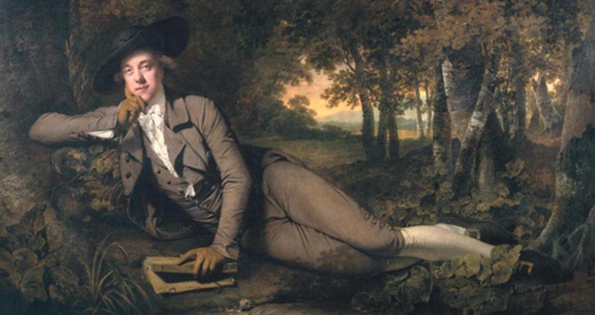 Wright of Derby. Sir Brooke Boothby, 1781. Pinacoteca do Estado, São Paulo