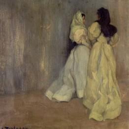 Zuloaga. Estudio de mujeres, 1896