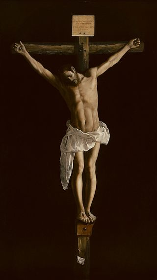 Francisco de Zurbarán. Cristo en la cruz, 1627. Art Institute of Chicago