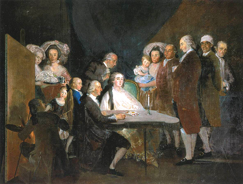Goya. La familia del infante don Luis de Borbón