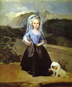 Goya. María Teresa Vallabriga de Chinchón