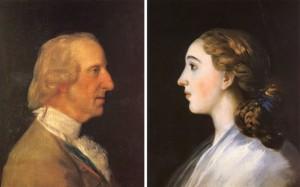 Goya. El infante don Luis y María Teresa Vallabriga