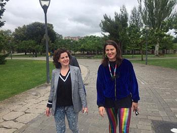 Consuegra Romero y Elba Martínez