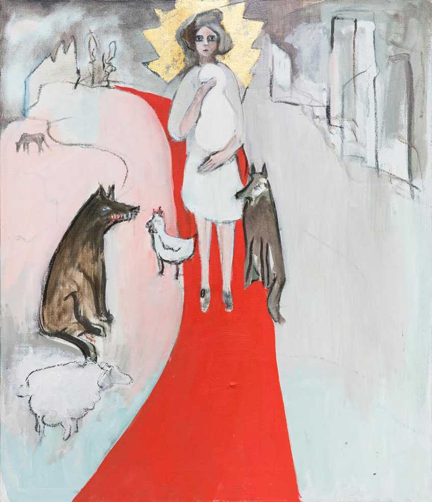 Breza Cecchini. Camino rojo, 2016-2017