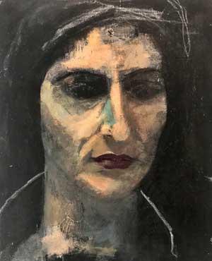 Breza Cecchini, Autorretrato, 2001