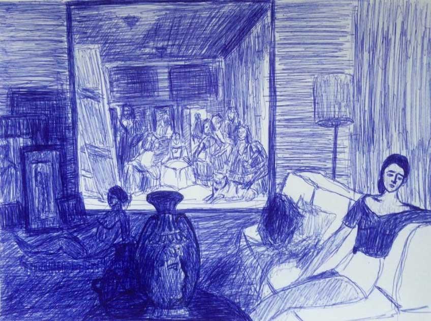 Consuegra Romero. Living room, 2015