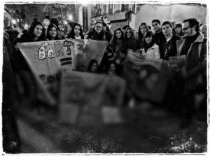 Exposición del alumnado de la asignatura Color I, comisariada por J. Joven. Facultad de Bellas Artes de Teruel (2011)