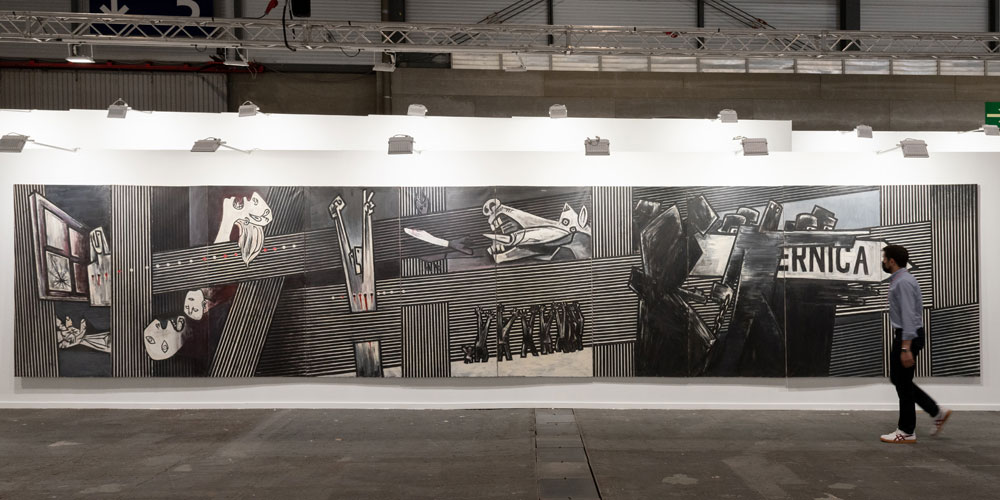 Agustín Ibarrola. Guernica Gernikara. José de la Mano Galería de Arte
